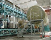 玻璃钢罐生产过程