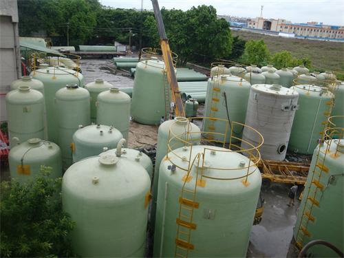 【玻璃废水罐】深圳森洪涛环保有限公司购买了3台50立方废水罐