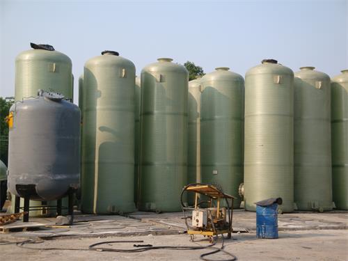 【广东玻璃钢盐酸罐】东莞中庆化工有限公司再次采购固肽玻璃钢盐酸罐